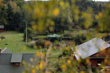 Agroturystyka nad Tanwią - podwórze